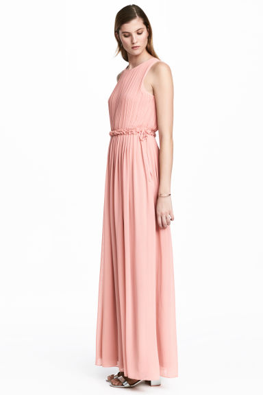 Maxi dress - Powder pink -  | H&M CN 1