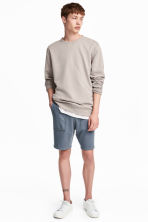 Sweatshirt shorts - Pigeon blue - Men | H&M 1