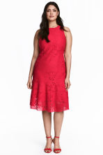 H&M+ Lace dress - Red - Ladies | H&M CN 1