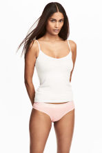 3-pack cotton-blend briefs - Powder pink - Ladies | H&M CN 1