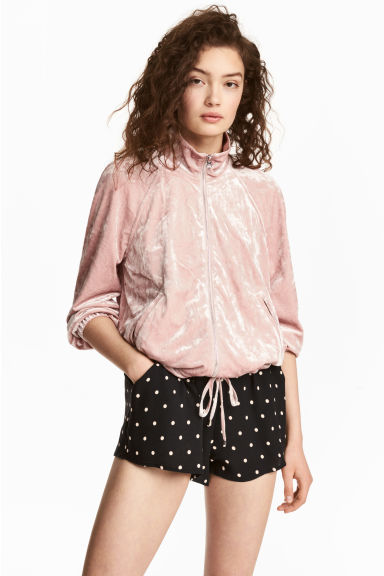 Patterned shorts - Black/Spotted - Ladies | H&M 1