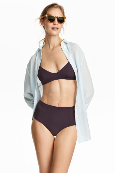 Bikini bottoms High waist - Plum - Ladies | H&M 1