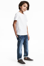 Super soft Slim fit Jeans - Denim blue - Kids | H&M 1