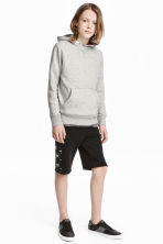 Shorts in felpa - Nero/stelle -  | H&M IT 1
