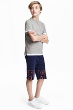 Sweatshirt shorts - Dark blue -  | H&M CN 1