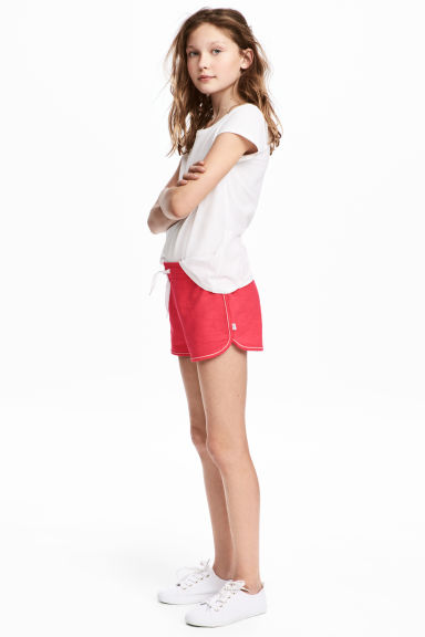 Sweatshirt shorts - Raspberry pink -  | H&M 1