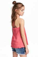 Jersey strappy top - Raspberry pink -  | H&M 1