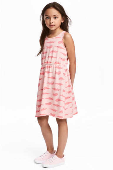 Jersey dress - Light pink - Kids | H&M CN 1
