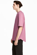 Cotton T-shirt - Heather - Men | H&M CN 1