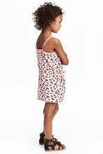 Jersey playsuit - Light pink/Leopard print - Kids | H&M 1