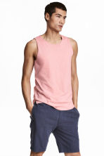 Vest top - Light pink - Men | H&M 1