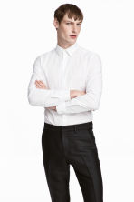 Cotton shirt - White -  | H&M 1