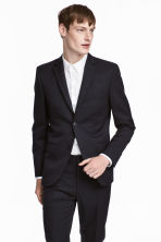 Jacket - Dark blue - Men | H&M CN 1
