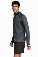 Ultra-light running jacket - Dark grey-blue - Men | H&M 1