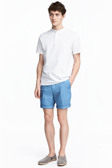 Short chino shorts - Blue - Men | H&M CN 1
