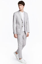 Pantalon de costume Slim fit - Gris clair - HOMME | H&M CH 1