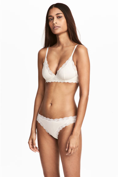 Bikini 2件入內褲 - White - Ladies | H&M 1