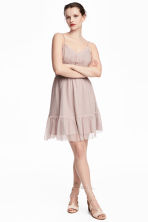 Lace dress - Dusky pink - Ladies | H&M 1