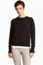 Cashmere jumper - Black - Ladies | H&M CN 1