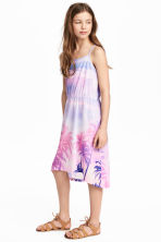 Patterned jersey dress - Pink/Palms -  | H&M CA 1