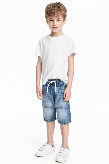 Denim shorts - Denim blue - Kids | H&M CN 1