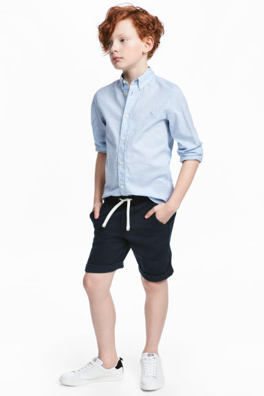 Shorts con elastico - Blu scuro - BAMBINO | H&M IT 1