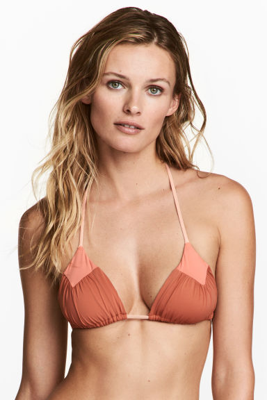 Triangelbikinitop - Roest - DAMES | H&M BE 1