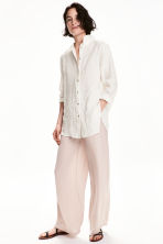 Wide trousers - Light mole - Ladies | H&M 1