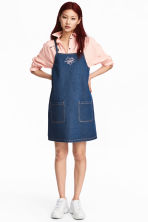 Denim dress - Dark denim blue - Ladies | H&M 1