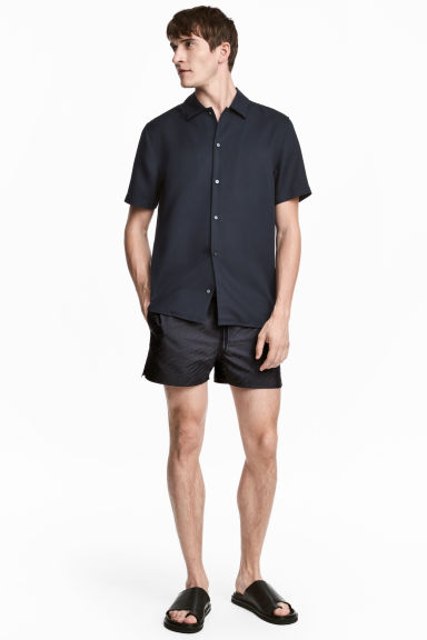 Short shorts - Dark blue - Men | H&M CN 1