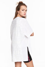 Oversized T-shirt - White - Ladies | H&M 1