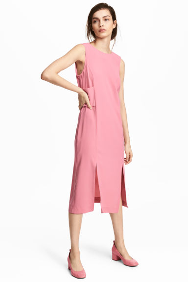 Sleeveless dress - Pink - Ladies | H&M CA 1