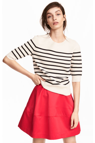 Flared skirt - Red - Ladies | H&M 1