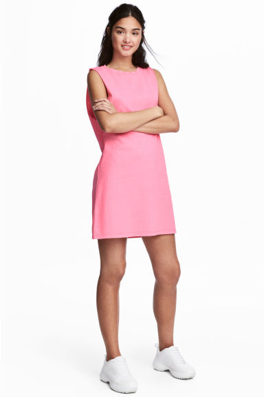 Sleeveless jersey dress - Pink - Ladies | H&M 1