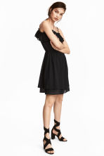 Off-the-shoulder dress - Black -  | H&M 1