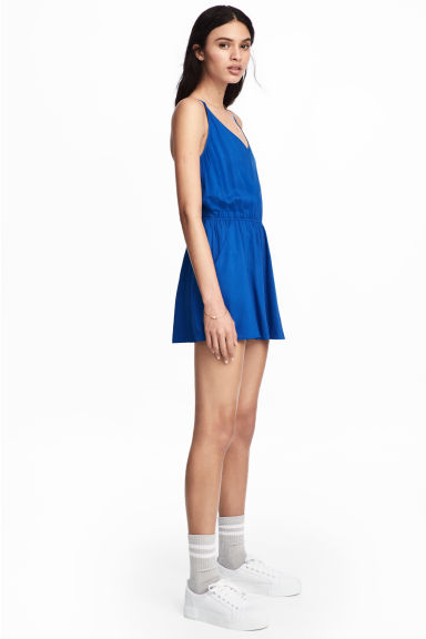 Playsuit - Cornflower blue - Ladies | H&M CA 1