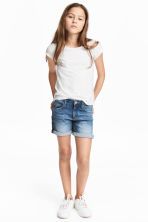 Denim shorts - Denim blue - Kids | H&M 1
