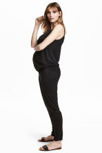 MAMA Jersey jumpsuit - Black - Ladies | H&M CN 1