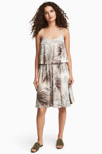 Jersey dress - Natural white/Leaf - Ladies | H&M 1