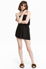 Strapless playsuit - Black - Ladies | H&M 2