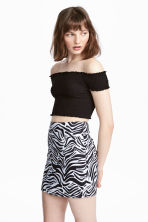 Short skirt - Zebra print - Ladies | H&M GB 1