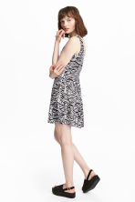 Jersey dress - Zebra print - Ladies | H&M 1