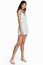 Playsuit - Mint green - Ladies | H&M 1