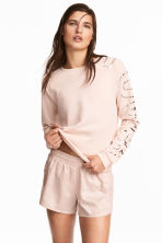 Sports top - Powder pink -  | H&M CA 1