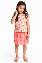 Top and skirt - Powder/Watermelon - Kids | H&M 1