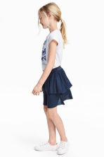 Top and skirt - White/Butterflies - Kids | H&M 1
