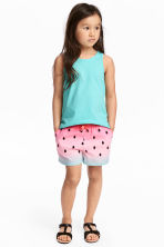 Jersey shorts - Pink/Watermelon -  | H&M 1