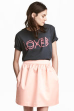Short skirt - Powder pink - Ladies | H&M 1