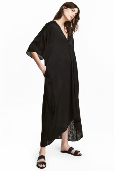 Kaftan - Black - Ladies | H&M CA 1