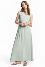 Maxi dress - Mint green - Ladies | H&M CN 1